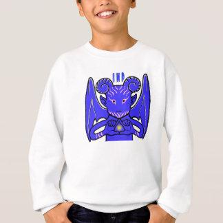 Winged Blue Imp Sweatshirt