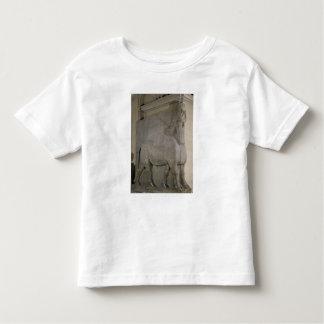 Winged bull at a facade of King Sargon II's Toddler T-Shirt