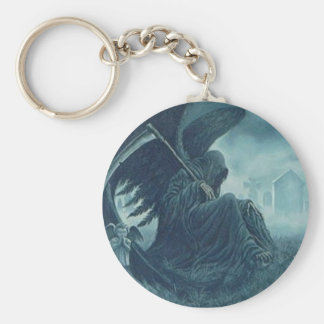 winged death keychain