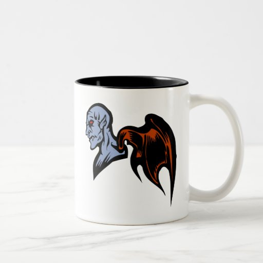 winged demon coffee mugs