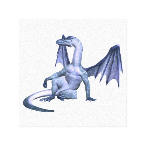 Winged Dragon  Canvas Print