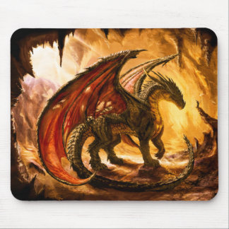 Winged Dragon Mouse Mat