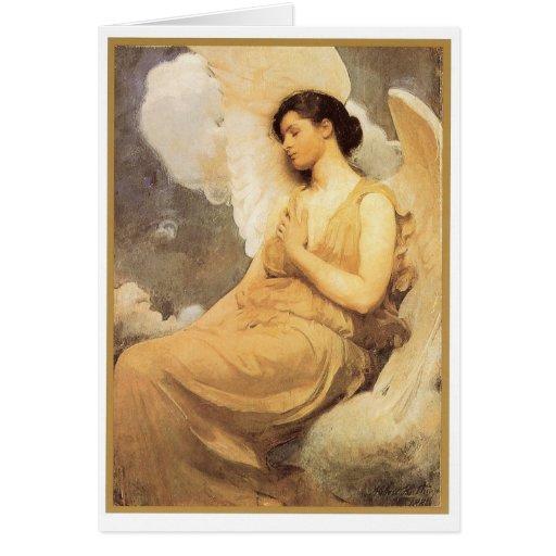 Winged Figure - Card