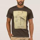 Winged Flying Machine Sketch by Leonardo da Vinci T-Shirt