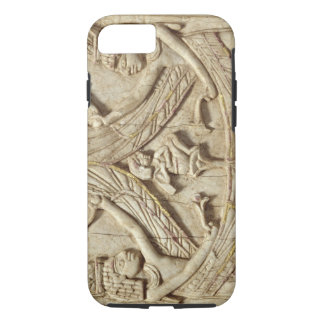 Winged genii, Assyrian Period, c.750 BC (ivory) iPhone 8/7 Case