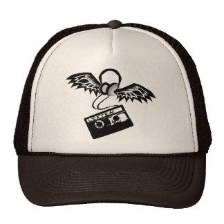 Winged Headphones Hat