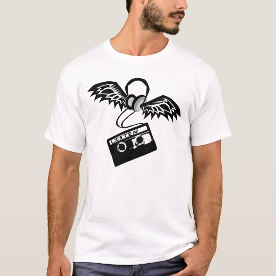 Winged Headphones T-Shirt