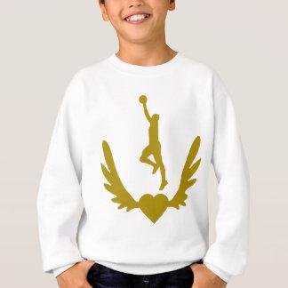 Winged-Heart-Basket.png Sweatshirt