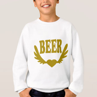 Winged-Heart-Beer.png Sweatshirt