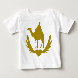 Winged-Heart-Camel-.png Baby T-Shirt