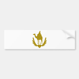 Winged-Heart-Camel-.png Bumper Sticker