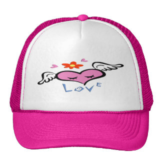 Winged Heart Cap