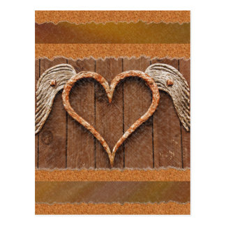Winged Heart Postcard