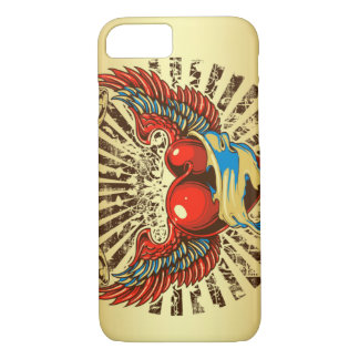 Winged heart tattoo iPhone 7 case