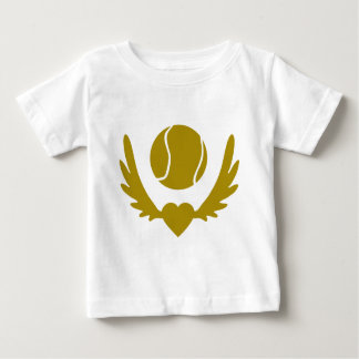 Winged-Heart-Tennis-2.png Baby T-Shirt