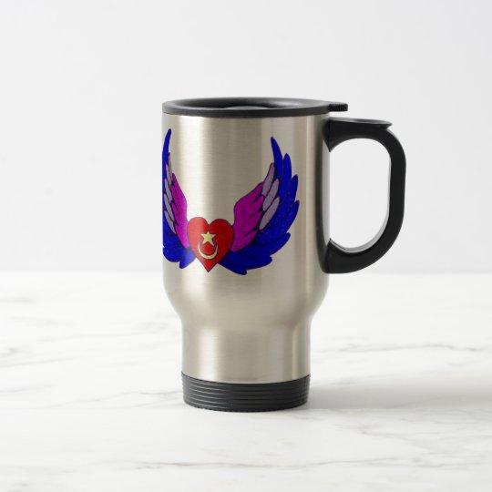Winged Heart Travel Mug