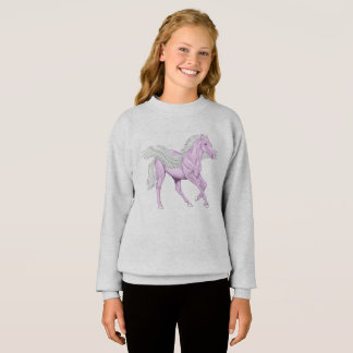 Winged Horse Pegasus Sweatshirt