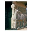 Winged human-headed bull, Neo-Assyrian Period Postcard