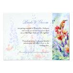 Winged Jewels Hummingbirds - Save the Date 13 Cm X 18 Cm Invitation Card