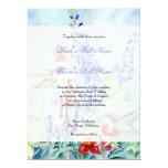 Winged Jewels Hummingbirds - Wedding Invitation
