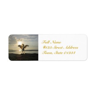 Winged Lion Mailing Labels