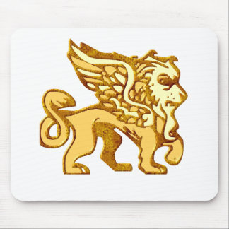 Winged Lion Mousepad