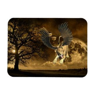Winged Lioness  Premium Magnet Vinyl Magnets