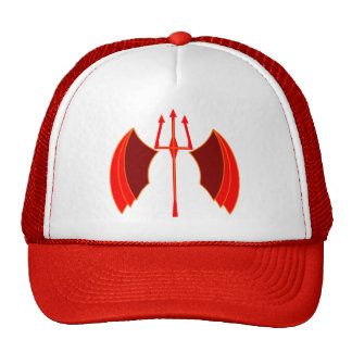 Winged Pitchfork Cap
