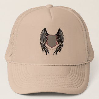 Winged Plaque Trucker Hat