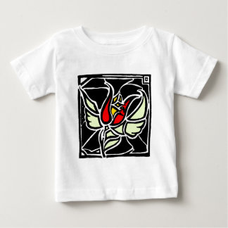 winged rose baby T-Shirt