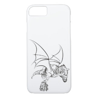 Winged RWS gates/Tribal iPhone 7 Case