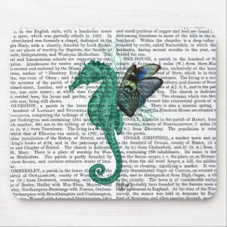 Winged Seahorse Mouse Mat