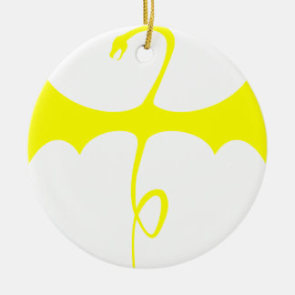 Winged Serpent Christmas Ornament