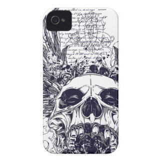 Winged Skull Death Angel iPhone 4 Case Goth Metal