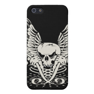 Winged Skull Case For iPhone 5