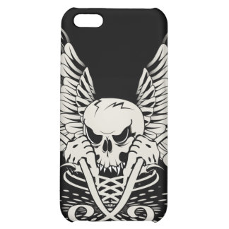 Winged Skull iPhone 5C Case