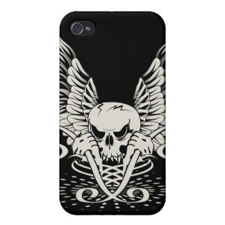 Winged Skull iPhone 4 Cover