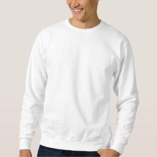 Winged skull pullover sweatshirt