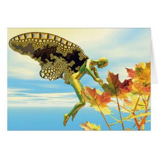 Winged Things - Autumn Splendor Greeting Card
