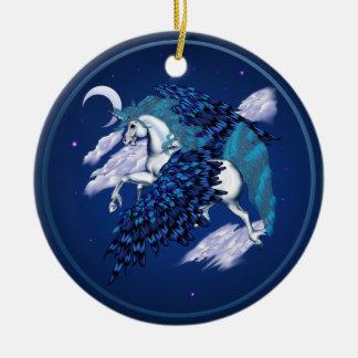 Winged Unicorn -Ornaments Christmas Ornament