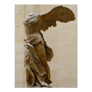 Winged Victory of Samothrace Print