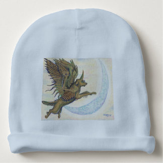 Winged Wolf Baby Beanie