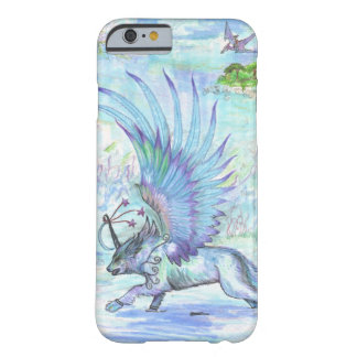 Winged Wolf Barely There iPhone 6 Case