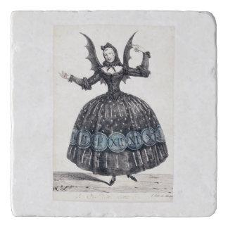 Winged Woman Trivet