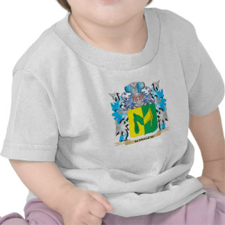 Winger Coat of Arms - Family Crest T-shirt
