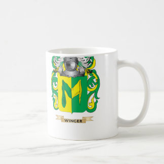 Winger Family Crest (Coat of Arms) Mugs