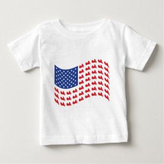 winger-flag-wave baby T-Shirt