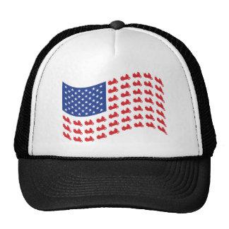 winger-flag-wave trucker hat