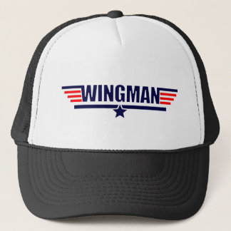 Wingman Top Gun   Trucker Hat