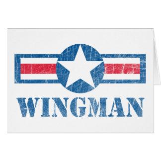 Wingman Vintage Card